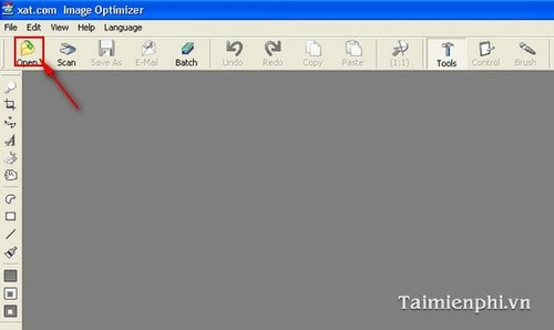 Giảm dung lượng file ảnh bằng Image Optimizer