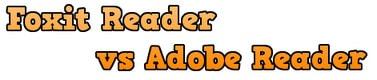 so sanh Foxit Reader va Adobe Reader