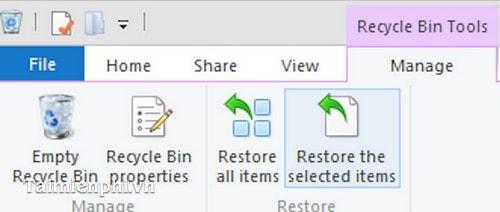 Mẹo để sử dụng Recycle Bin hiệu quả trên Windows