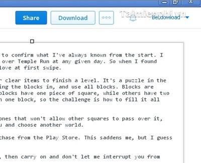 Truy cập file trên Dropbox từ Google Chrome