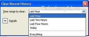 Xóa lịch sử duyệt web có chọn lọc trong Firefox và Google Chrome