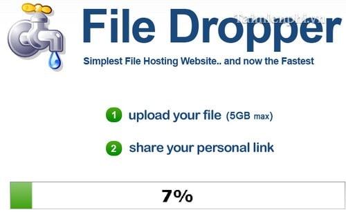 Cách chia sẻ tập tin lên đến 5GB miễn phí