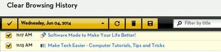 Sử dụng History Eraser App xóa lịch sử nhanh chóng trên Chrome