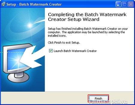 Hướng dẫn cài đặt Batch Watermark Creator