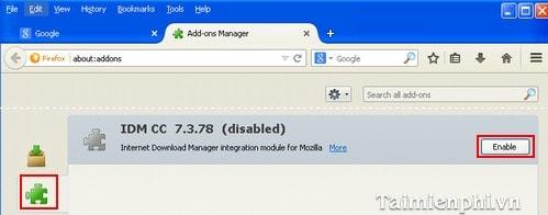 Cách sửa lỗi IDM không tự động bắt link tải nhạc, video Youtube, Facebook trên trình duyệt 11