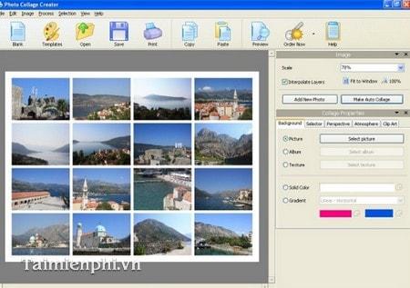 Phần mềm ghép ảnh đẹp lung linh cho máy tính