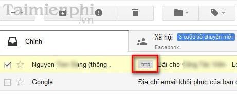 Đánh nhãn cho thư trong gmail
