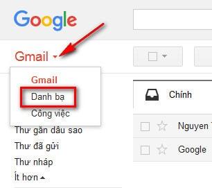 tao nhom trong gmail