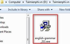 cai dat english grammar
