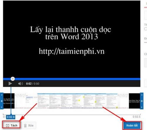 Cắt video youtube online, cắt video online trên youtube 4