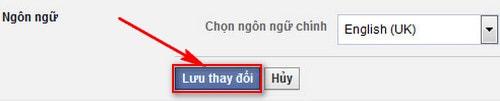 cach chuyen facebook sang tieng anh