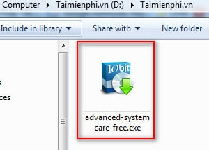 cai dat advanced systemcare free