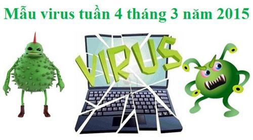 mau virus, phan mem doc hai tuan 4 thang 3 nam 2015