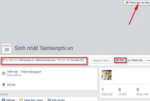 Cách tạo sự kiện cho nhóm trên Facebook
