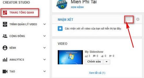 Xem bình luận trên Youtube