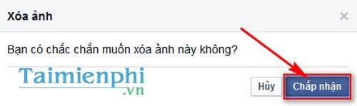Xoá ảnh trên Facebook, delete ảnh đã đăng trên Facebook