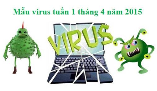 mau virus, phan mem doc hai tuan 1 thang 4