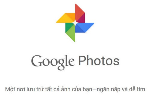 cai dat google photos tren may tinh