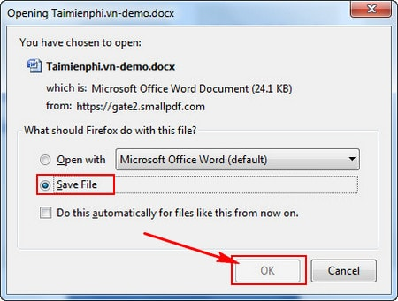 Convert PDF to Word Online, Full page, no font error