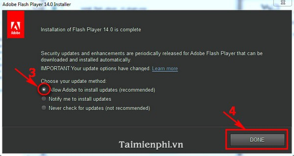 cai adobe flash player tren may tinh