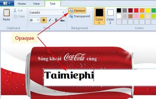 Khắc tên lên lon Coca Cola, Heineken bằng Paint đơn giản nhất