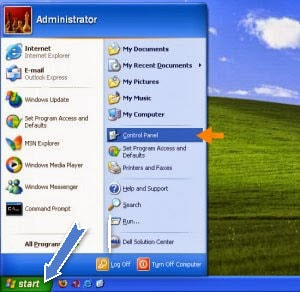 doi dns tren windows xp, vao facebook tren windows xp