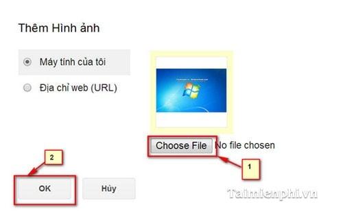 Gmail - Chèn, thêm ảnh vào Gmail