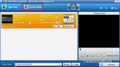 how to use total video converter