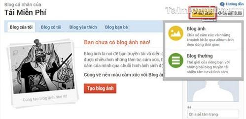 Hướng dẫn tạo Blog trên ZingMe nhanh và đơn giản