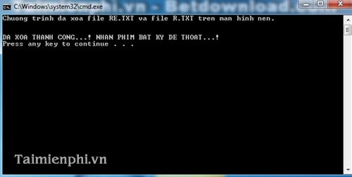 How to write a batch file to delete multiple files