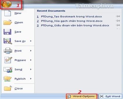 Cách xóa gạch chân trong Word, bỏ dấu gạch đỏ và xanh dưới chữ trong Word 6