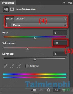 Photoshop - Blend ảnh với gam màu xanh lạnh