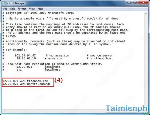 Cách chặn Website bất kỳ trên máy tính không cần phần mềm