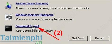 Quên mật khẩu Windows 7, Cách Reset, lấy lại mật khẩu, Phá password đăng nhập 14
