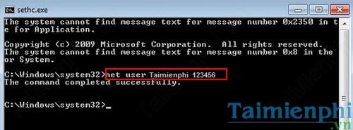 Quên mật khẩu Windows 7, Cách Reset, lấy lại mật khẩu, Phá password đăng nhập 17