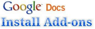 Cách cài Add ons trên Google Docs