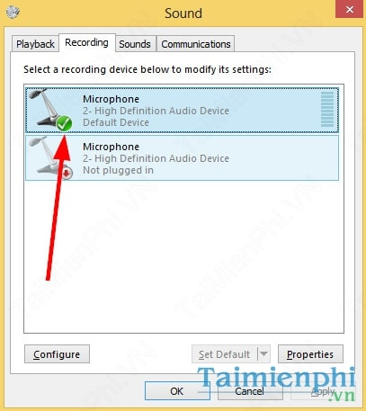 How to tune in Windows 7/8 Microphone