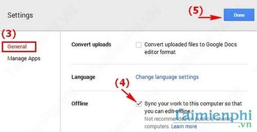 Chỉnh sửa văn bản ngay cả khi Offline trên Google Docs