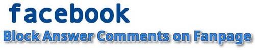 Facebook - Giới hạn trả lời bình luận trên Fanpage Facebook