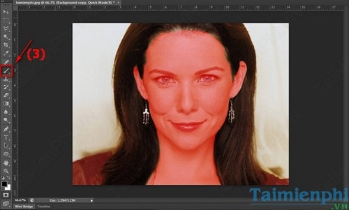 Cách làm mịn da bằng Photoshop 4