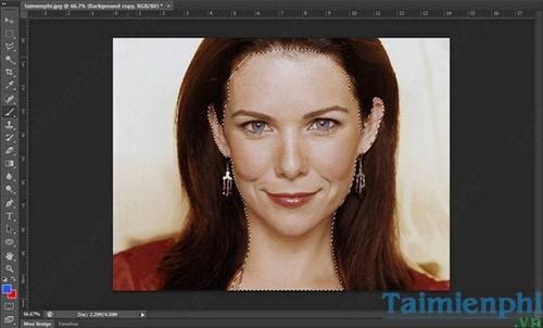 Cách làm mịn da bằng Photoshop 5