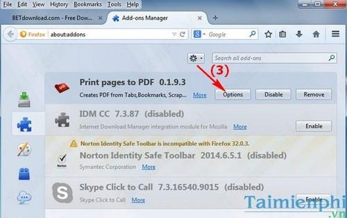 Cách lưu hàng loạt trang Web trên Firefox thành file PDF