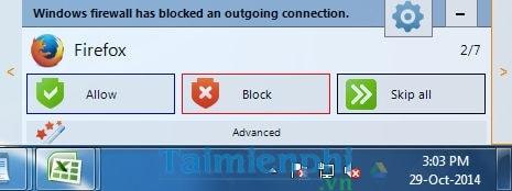 Quản lý kết nối internet trên máy tính với Windows Firewall Notifier