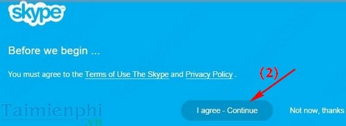 Download skype, goi dien tren trinh duyet web