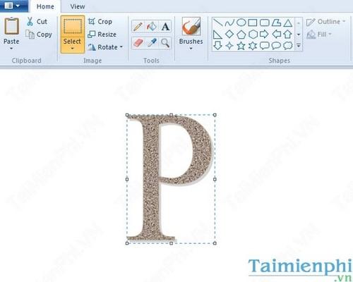 Cách tạo chữ lồng đơn thuần với WORD amp; PAINT