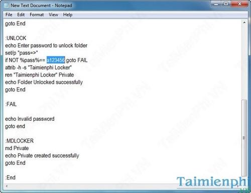 Đặt mật khẩu thư mục, bảo vệ folder trên máy tính không cần phần mềm 2