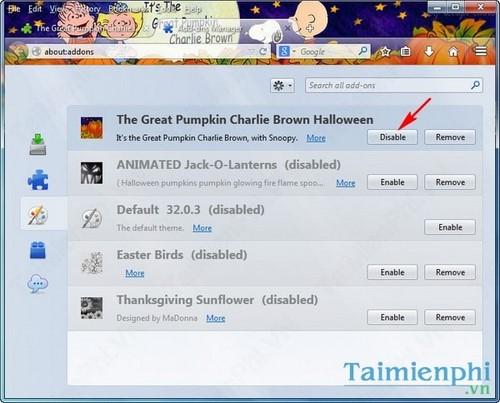 Đổi hình nền firefox, thay ảnh nền trình duyệt web Firefox