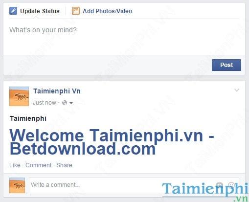 Facebook - Cách đăng Status chữ to trên Facebook
