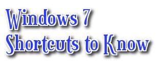 Cac phim tat trong Windows 7