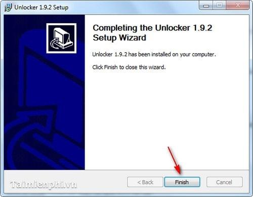 Cài và sử dụng Unlocker xóa file cứng đầu khỏi máy tính 8
